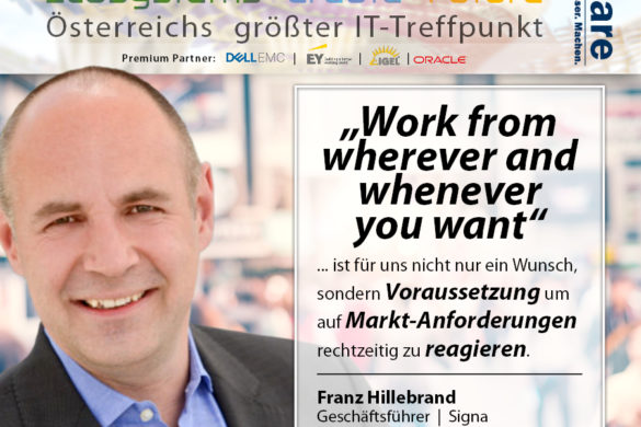 Franz Hillebrand - working evytime and from everywhere