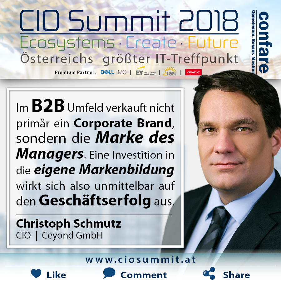 CIO Summit Christoph Schmutz