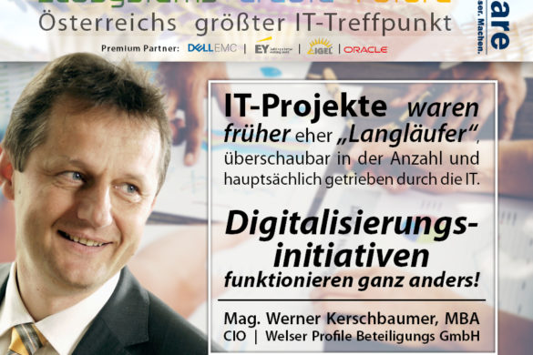 CIO Summit - Digitalisierungsinitiativen funktionieren anders als IT-Projekte