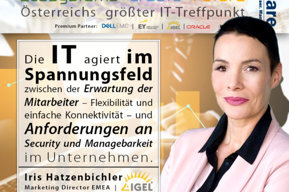 CIO Summit - IGEL - IT im Spannungsfeld