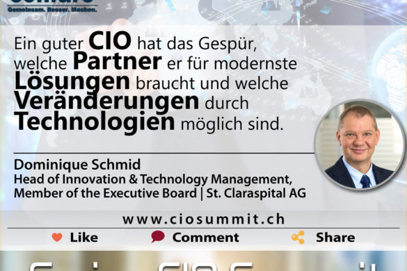 Swiss CIO Summit Schmid