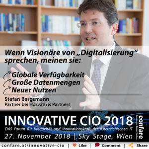 Innovative CIO - Stefan Bergsmann
