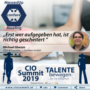 CIO Summit 2019- MessedUp Meeting