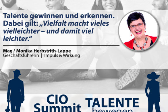 CIO Summit - Vielfalt Talente