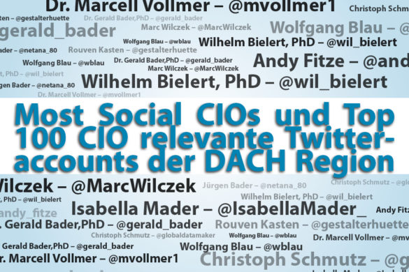Meme: The most Social CIOs und Top 100 CIO relevante Twitteraccounts der DACH Region