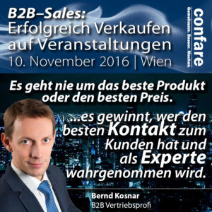 7421 B2B Sales auf Events