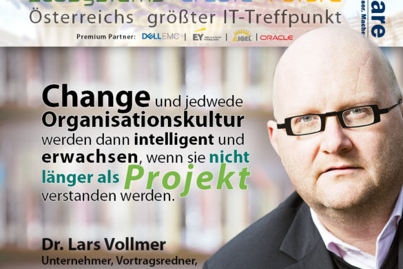 CIO Summit - Vollmer - Change bleibt kein Projekt