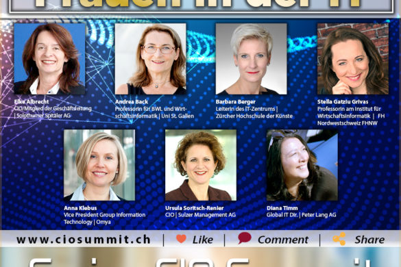 Swiss CIO Summit - Frauen in der IT