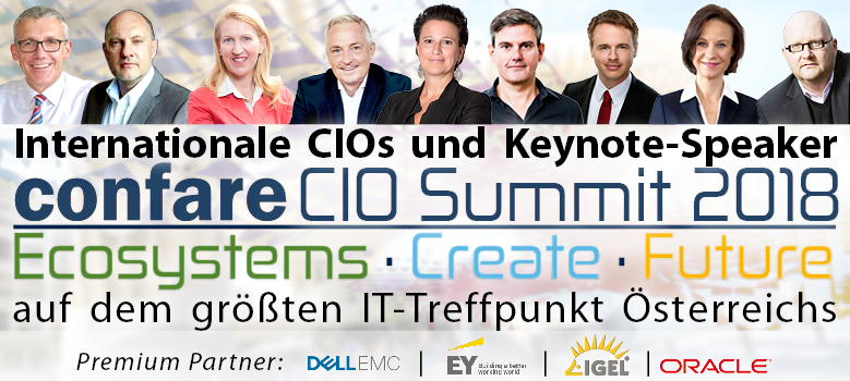 CIO & IT-Manager Summit 2018