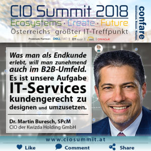 CIO Summit - Buresch - IT-Services kundengerecht umsetzen
