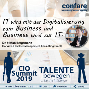 CIO Summit - Stefan Bergsmann