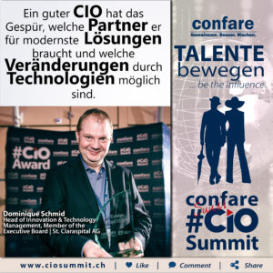 Swiss CIO Summit - Domnique Schmid