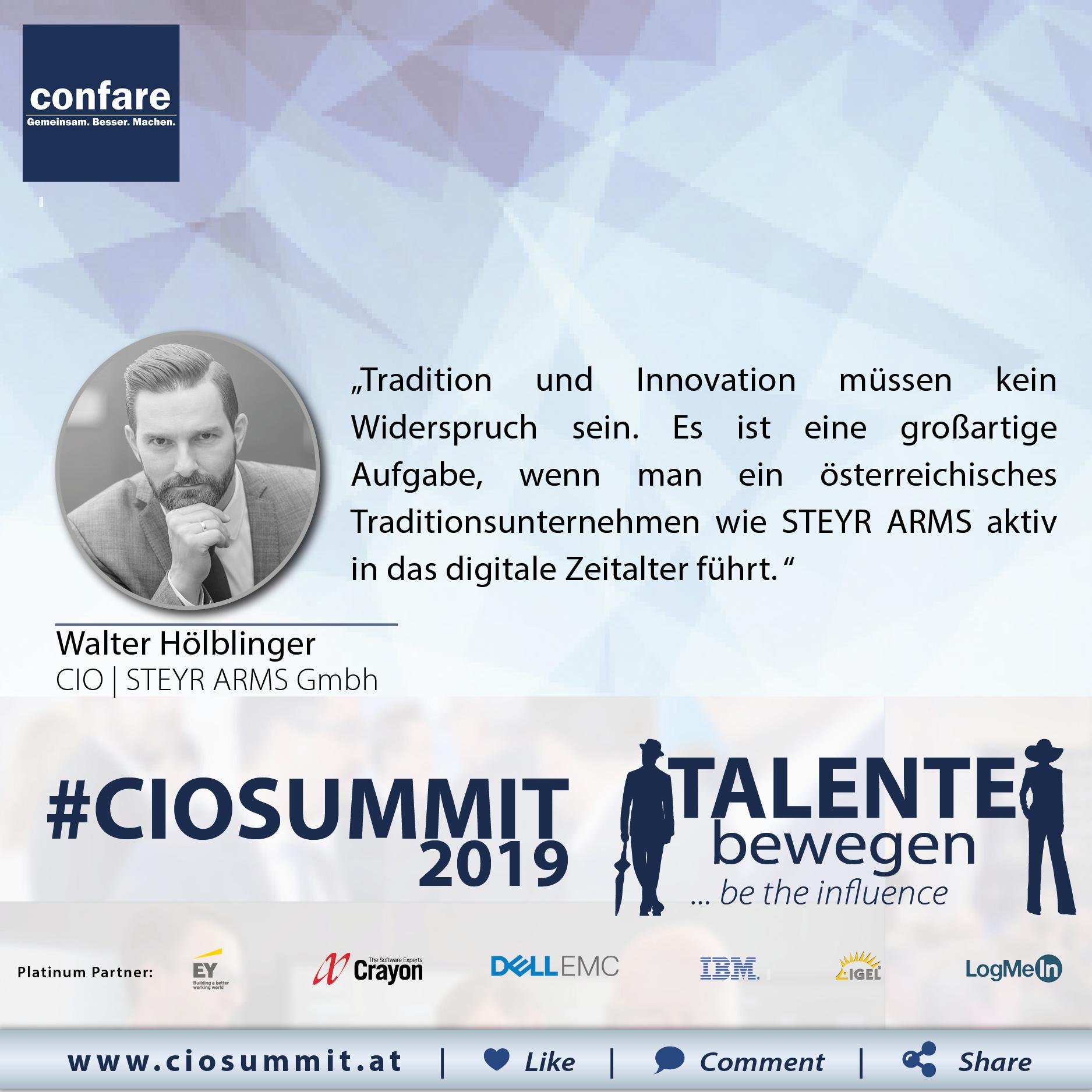 Meme CIO Summit 2019 - Walter Hölblinger 3
