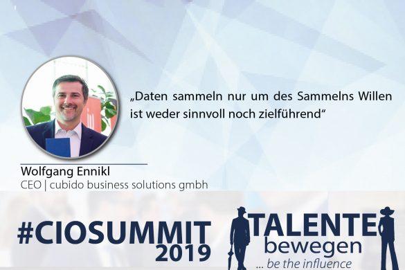 Meme CIO Summit 2019 - Wolfgang Ennikl