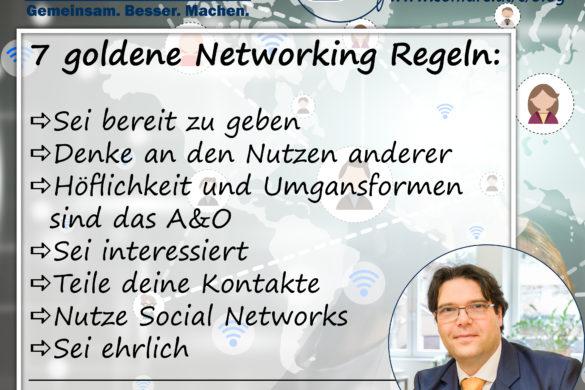 Networking Regeln Blog