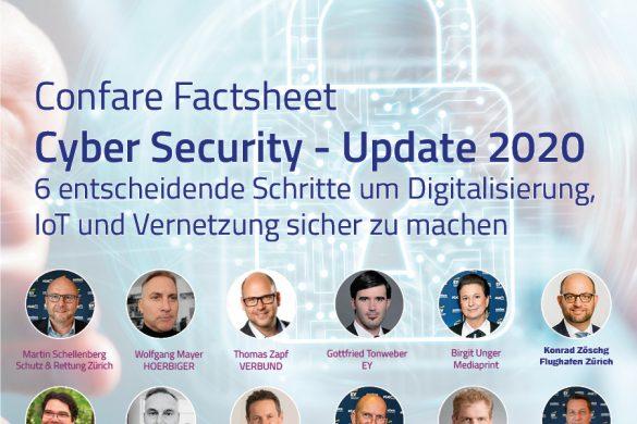 Cýber Security Factsheet: 6 entscheidende Schritte zur Digitalisierung