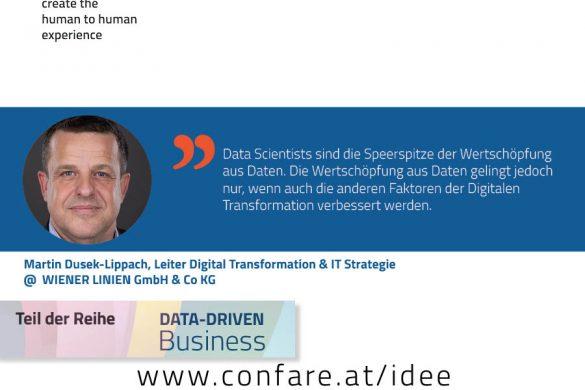 Martin Dusek-Lippach, Leiter Digital Transformation & IT Strategie
