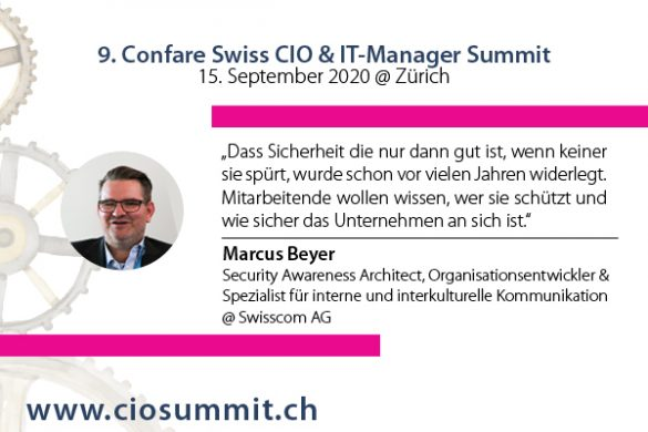 Marcus Beyer - Security Awareness Architect @ Swisscom AG