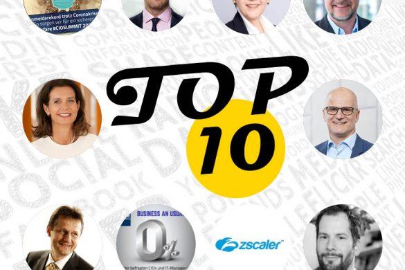 Top10 Blogeinträge - Juni