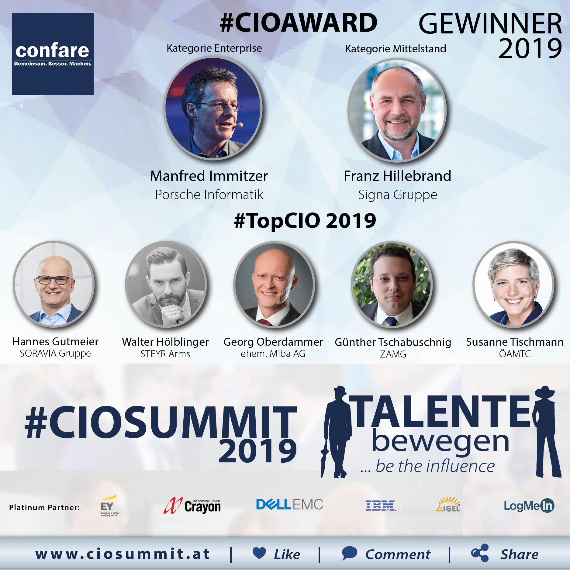 Meme CIO Summit 2019 - Winner
