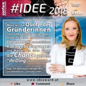 Michaela Lindinger Gründerinnen Chancen