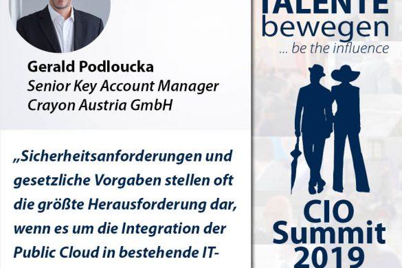 Meme CIO Summit 2019 - Gerald Podloucka