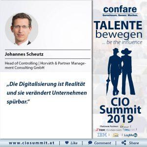 Meme CIO Summit 2019 - Johannes Scheutz 2