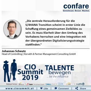 Meme CIO Summit 2019 - Johannes Scheutz