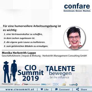 Meme CIO Summit 2019 - Monika Herbstrith 2