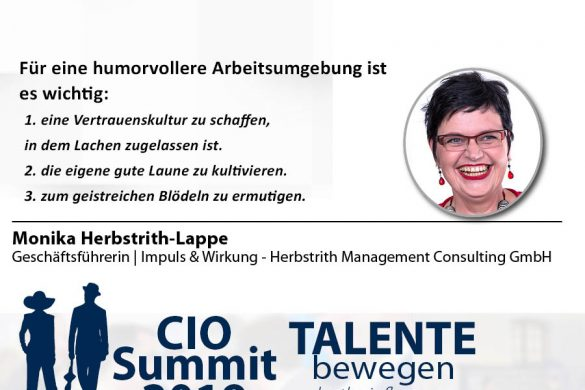 Meme CIO Summit 2019 - Monika Herbstrith 2