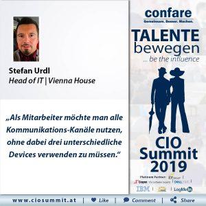 Meme CIO Summit 2019 - Stefan Urdl