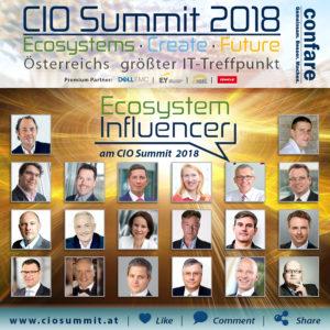 CIO Summit Ecosystem Influencer