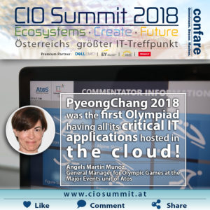 CIO Summit 2018 - Martin Munoz - Olympiad in the cloud