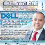 CIO Summit 2018 - Trod - im Vordergrund von DELL_EMC