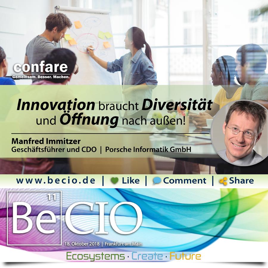 BeCIO Manfred Immitzer Porsche Informatik