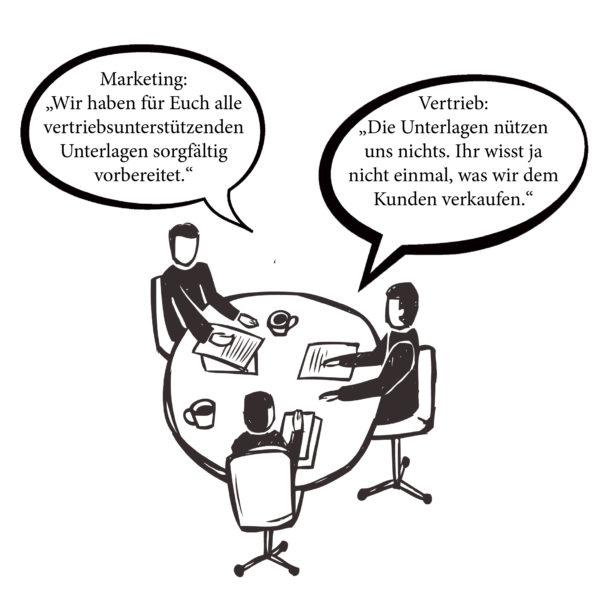 Marketing & Sales Cartoon