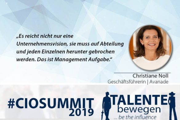 Meme CIO Summit 2019 - Christiane Noll