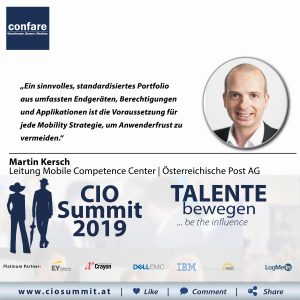 Meme CIO Summit 2019 - Martin Kersch