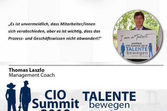 Meme CIO Summit 2019 - Thomas Laszlo