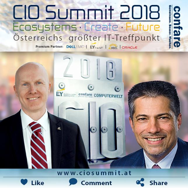 CIO Summit CIO Award Gewinner 2018