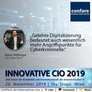 Innovative CIO Meme - Walter Hölblinger
