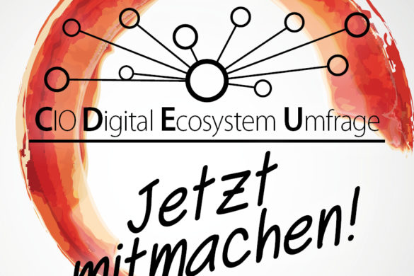 CIO Digital Ecosystem Umfrage