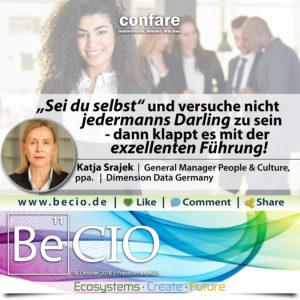 BeCIO Katja Strajek - als Frau erfolgreich führen