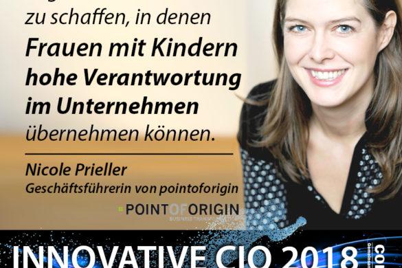 Innovative CIO - Frauen mit Kindern können im Unternehmen hohe Verantwortung übernehemen