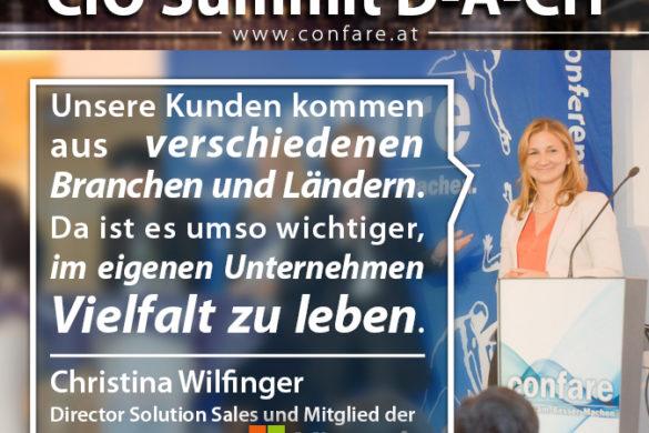 CIO DACH - Christina Wilfinger: Vielfalt im Unternehmen leben