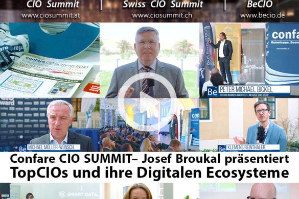 Josef Broukal präsentiert TopCIOs und ihre Digitalen Ecosysteme