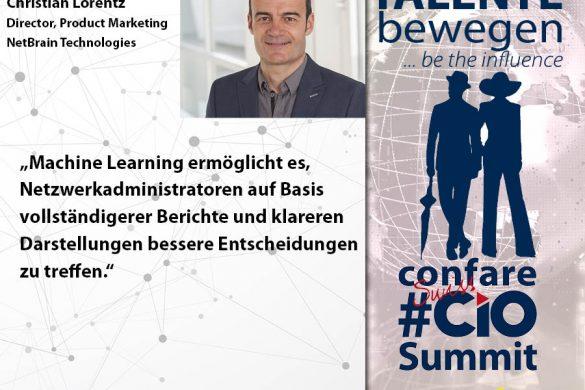 Meme CIO Summit 2019 - Christian Lorentz