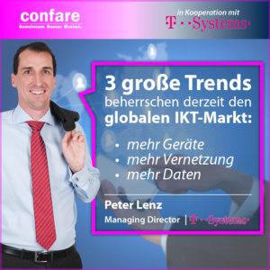 Meme T-Sytems - Peter Lenz _ 3 große Trends am IKT-Markt