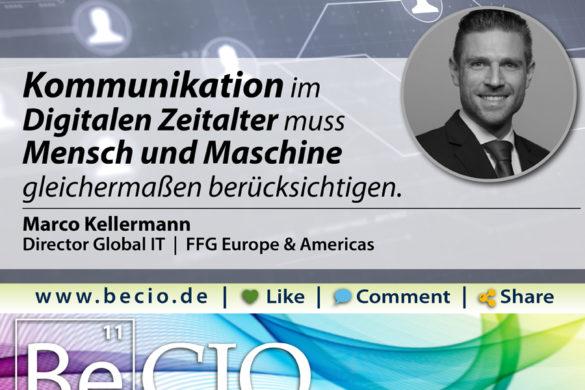 Be CIO Marco Kellermann