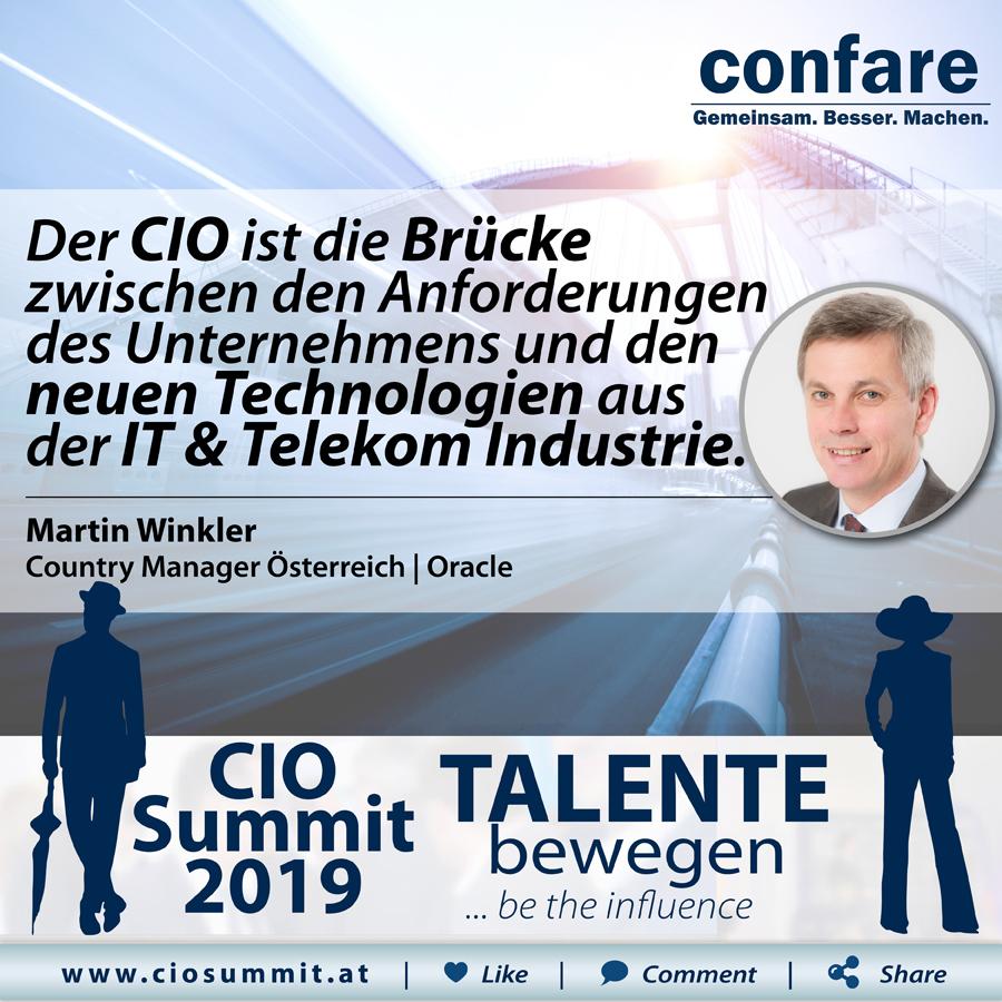 CIO Summit - Martin Winkler
